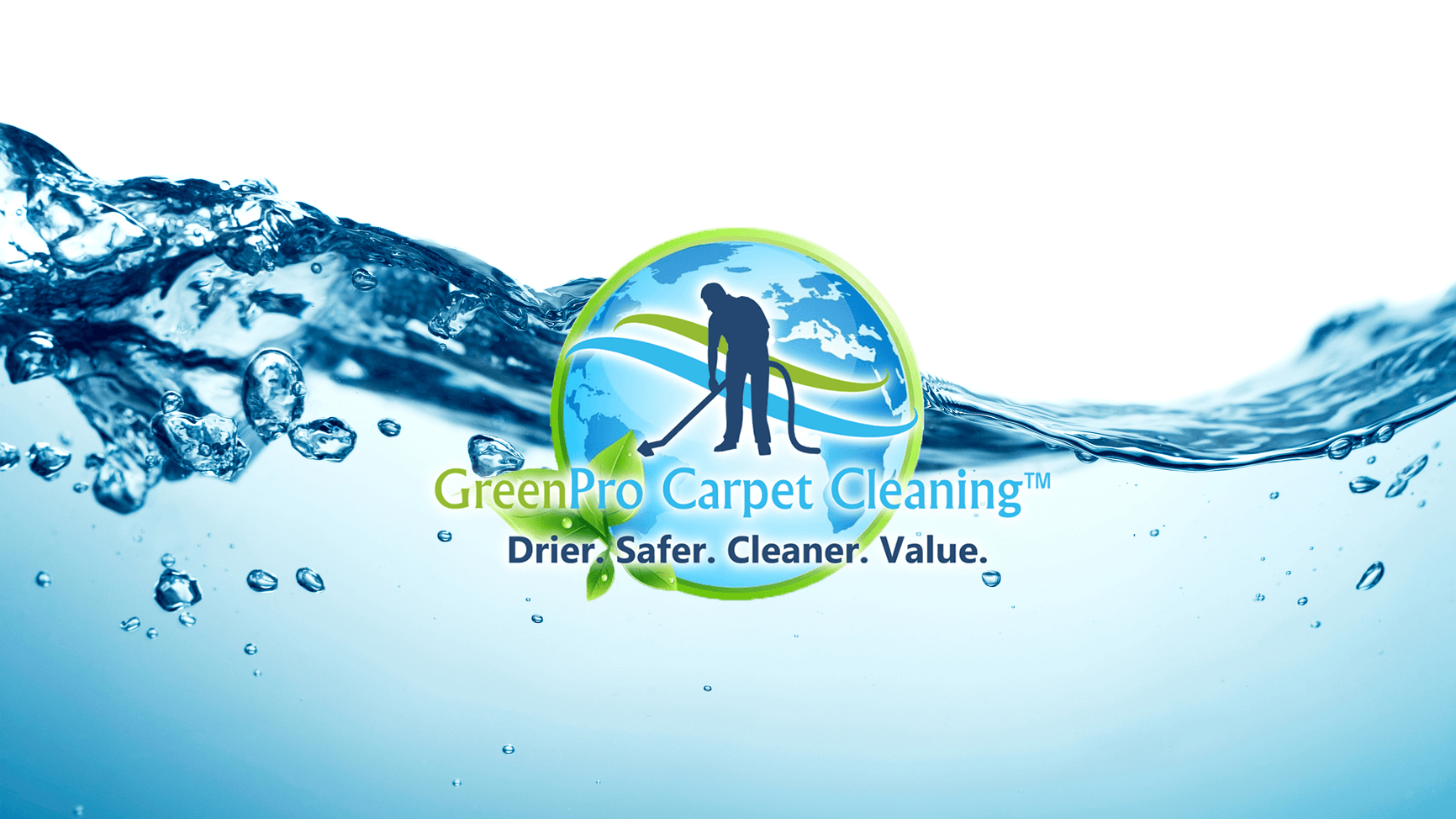 GreenPro Carpet Cleaning Logo